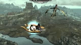 Skyrim Flying Machine - Aerial Combat!