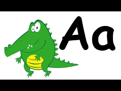 Letter A Song (Alligator Song) | English Alphabet for Kids