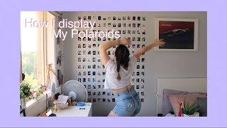 How I Display My Polaroids *EXTRA AF*