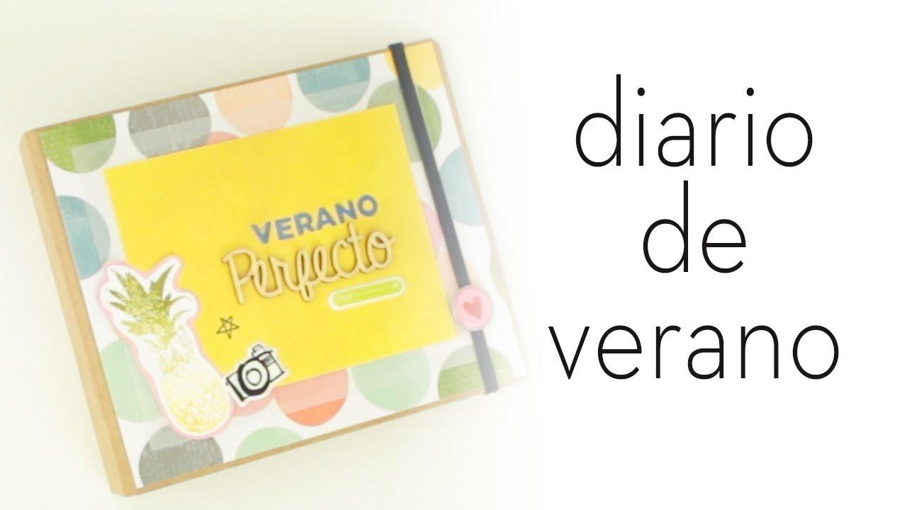 Cuaderno de Verano 2017 | Mini álbum con estructura de Blokum