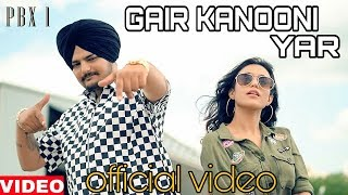 OUTLAW : GAIR KANOONI : OFFICIAL VIDEO SIDHU MOOSE WALA   OUTLAW OFFICIAL VIDEO   SIDHU MOOSE WALA