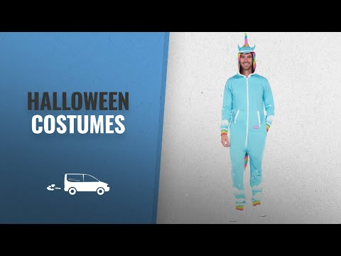 Tipsy Elves Men Halloween Costumes [2018]: Men's Unicorn Onesie - Unicorn Jumpsuit Halloween Costume
