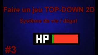 Système de vie / dégât ! Faire un jeu TOP-DOWN 2D #3 | TUTO UNITY FR