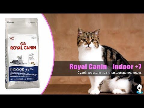 Корм для пожилых домашних кошек · Royal Canin Indoor +7