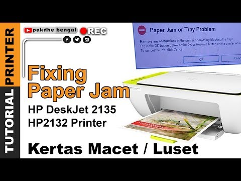Hp Printer Paper Jam Error But No Paper Jam