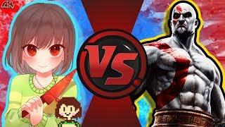 CHARA vs KRATOS! (Undertale vs GoW) CFC Bonus Episode 18