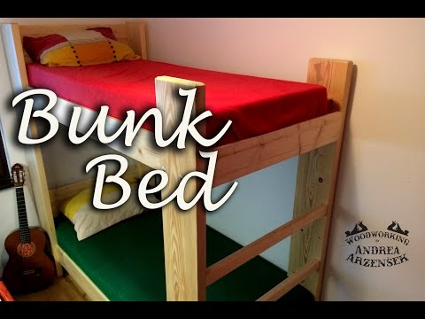 Making of Rock Solid Bunk Bed from Construction Wood! - Ep 052
