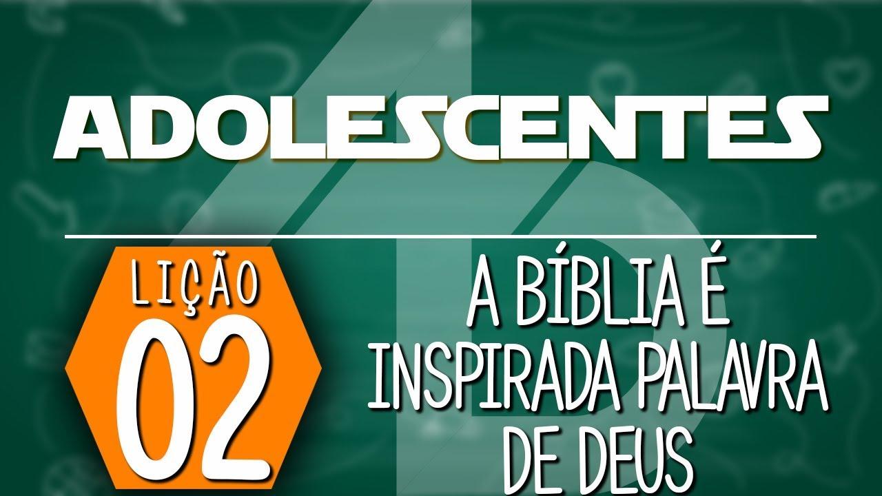 A Bíblia é inspirada palavra de Deus