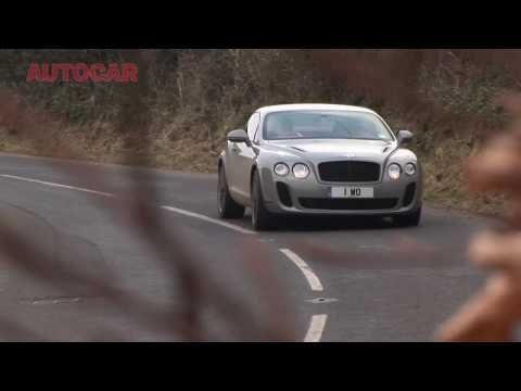 Bentley Continental Supersports driven by autocar.co.uk