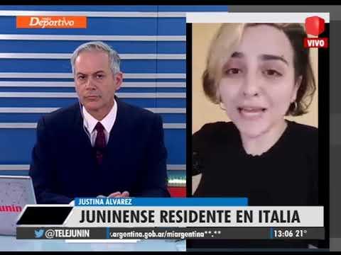 """""""En Italia se minimizó la situación y hoy las personas se mueren en sus hogares"""""""