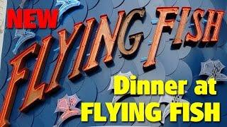 New Dining at Flying Fish | Boardwalk Inn