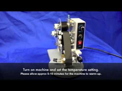 Ribbon Hot Printing Machine