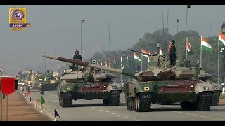 Indian Battle Tanks I 71st Republic Day Parade 26th January 2020