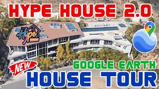 The New Hype House Tour on Google Earth