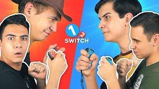 ИГРАЕМ С ДРУЗЬЯМИ в 1-2 Switch!