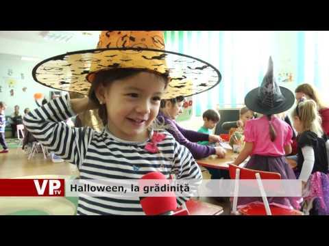 Halloween, la grădiniță