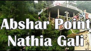 Abshar (Waterfall) Point at Nathia Gali KPK Pakistan
