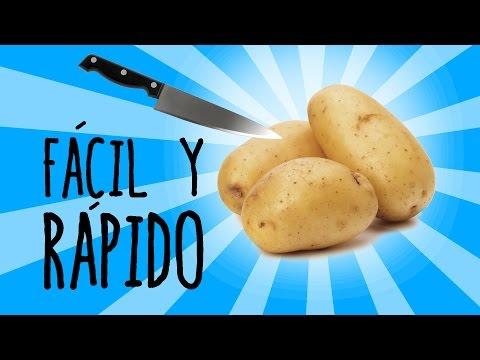 Aprende a Pelar Una Patata En Menos De Tres Segundos