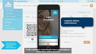 K&H e-bank – csekkbefizetés