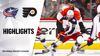 NHL Highlights   Blue Jackets @ Flyers 2/18/20
