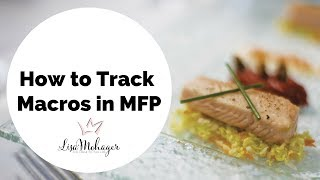 How to Track Your Keto Macros on My Fitness Pal