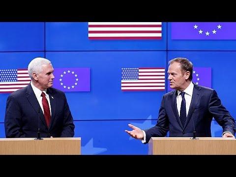 Βρυξέλλες: Καθησυχαστικός ο Μάικ Πενς για συνέχιση της συνεργασίας ΕΕ- ΗΠΑ