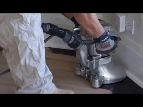 Hardwood Floor Refinishing With Dustless System Machine