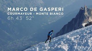 Courmayeur - Monte Bianco record - Marco De Gasperi