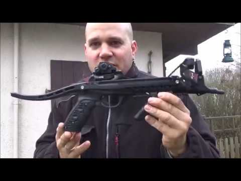 HORI ZONE REDBACK Pistolenarmbrust 80lbs pistol crossbow 235 FPS - Review und Schusstest