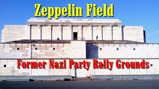 preview picture of video 'Zeppelin Field and Zeppelin Grandstand. Nuremberg 2014'