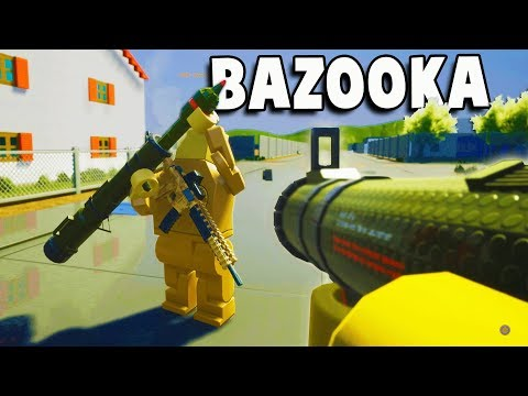 New BAZOOKA Vs Helicopter!  (Brick Rigs Bazooka & Helicopter Flying Gameplay - New Update)
