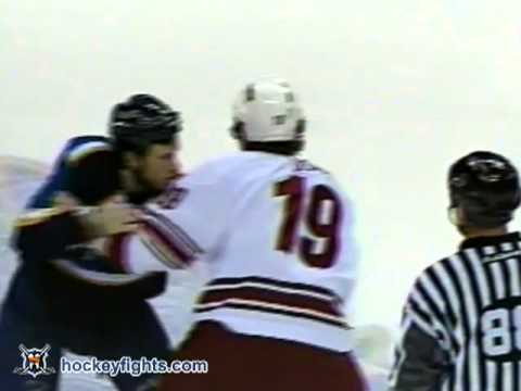 Mike Danton vs. Shane Doan