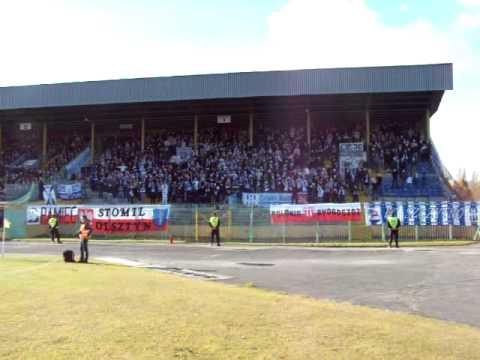 OKS 1945 Olsztyn - Ruch Chorzów 0:0 k. 0:3, 27 października 2010 r.