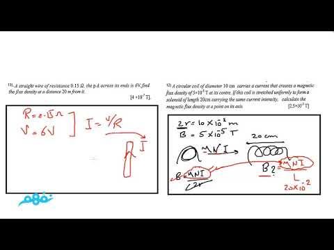 Magnetic effect of electric current Part 9 - Physics - فيزياء لغات - للثانوية العامة - نفهم