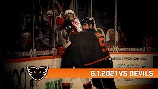 Devils vs. Phantoms | May 1, 2021