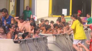 preview picture of video 'Santuario S. Antimo P. M. Tempo Estate Eccezionale - Oratorio Estivo 2011 Passi in Piazza'