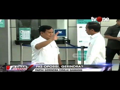 Mantap! PKS Oposisi, Gerindra Gamang