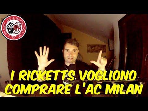 I RICKETTS VOGLIONO COMPRARE L'AC MILAN !!! BREAKING NEWS