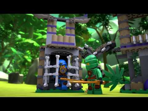 Vidéo LEGO Ninjago 70749 : Le temple Anacondra