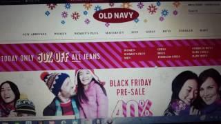 Ultra / Old Navy / LL Bean / Target / Payless 11/19/2016