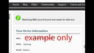 UNLOCK SAMSUNG WAVE 3G S8500 - How to Unlock S8500 Wave 3g from Rogers by Unlock Code