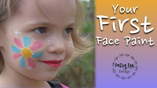 Your First Face Paint - Tutorial For Beginners
