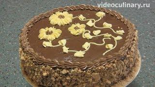 """Смотреть онлайн Готовим торт """"Киевский"""", рецепт его приготовления"""