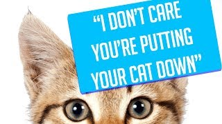 r/Entitledparents - I DON'T CARE IF YOUR PUTTING YOUR CAT DOWN! - Reddit Top Posts