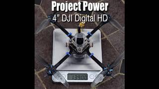 Ultra Light Caddx Vista 4 Inch ???? Quad 'Project Power'