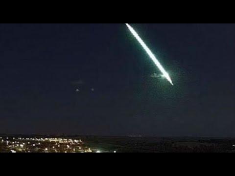 Meteoro é visto no céu do Nordeste