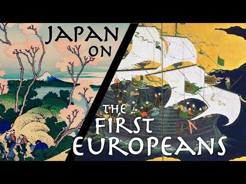 Japanese Historian Describes the FIRST European Encounter