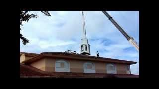 Old Steeple Coming Down 6 22 2012