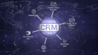 SeoToaster CRM video
