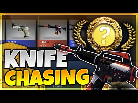 CS:GO OPENING x50 CASES!   CHASING MY FIRST KNIFE!!